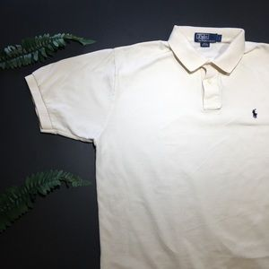 Polo by Ralph Lauren cream colored polo!